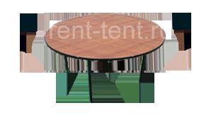 круглый стол в аренду 6 мест